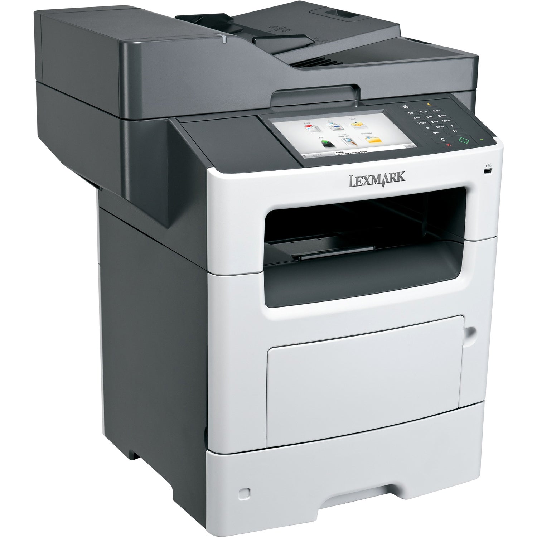 Lexmark MX611DHE Laser Multifunction Printer - Monochrome - Plain Pap