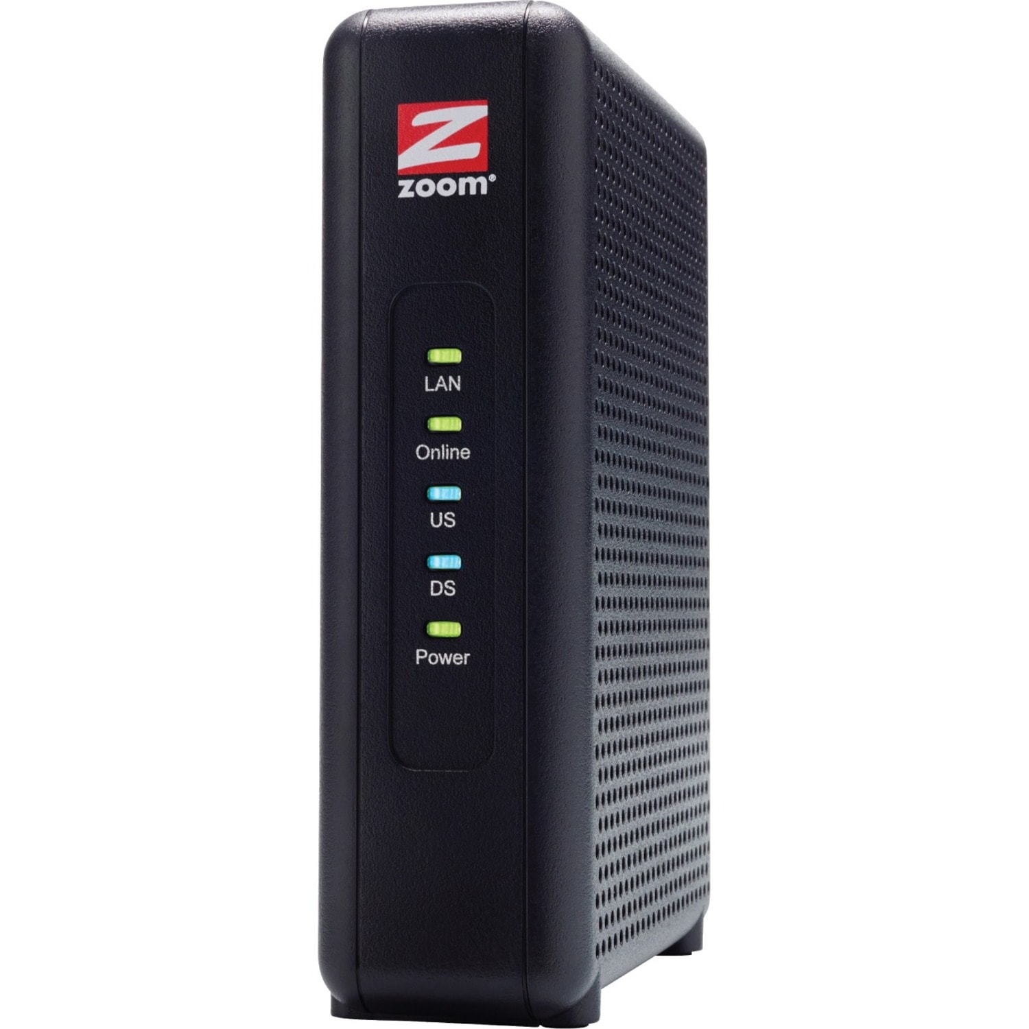 Zoom DOCSIS 3.0 Cable Modem, 8x4, 343 Mbps, Model 5345