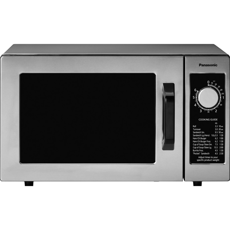 Panasonic 1000 Watt Commercial Microwave Oven Ne 1025f
