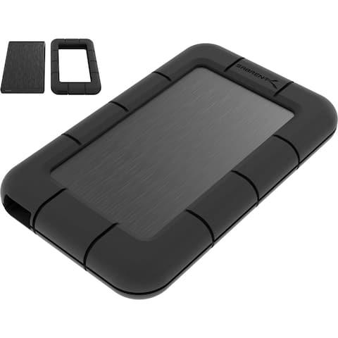 Sabrent Drive Enclosure Serial ATA/600 - USB 3.0 Host Interface - UASP Support External - Black