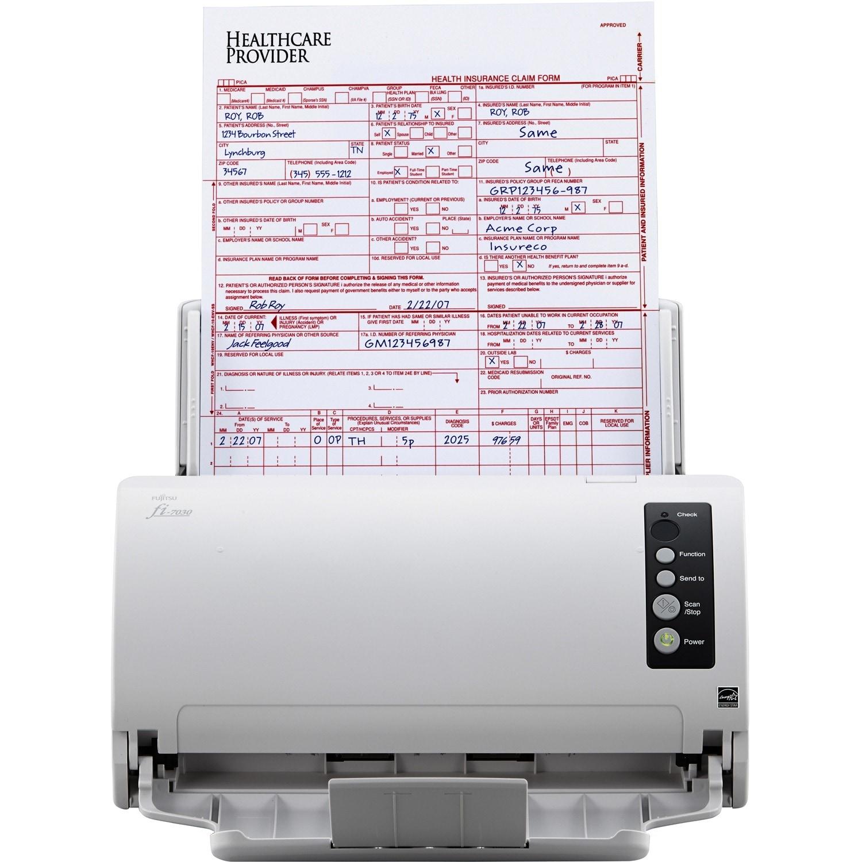 Shop Fujitsu fi-7030 Color Duplex Professional Document Scanner ...