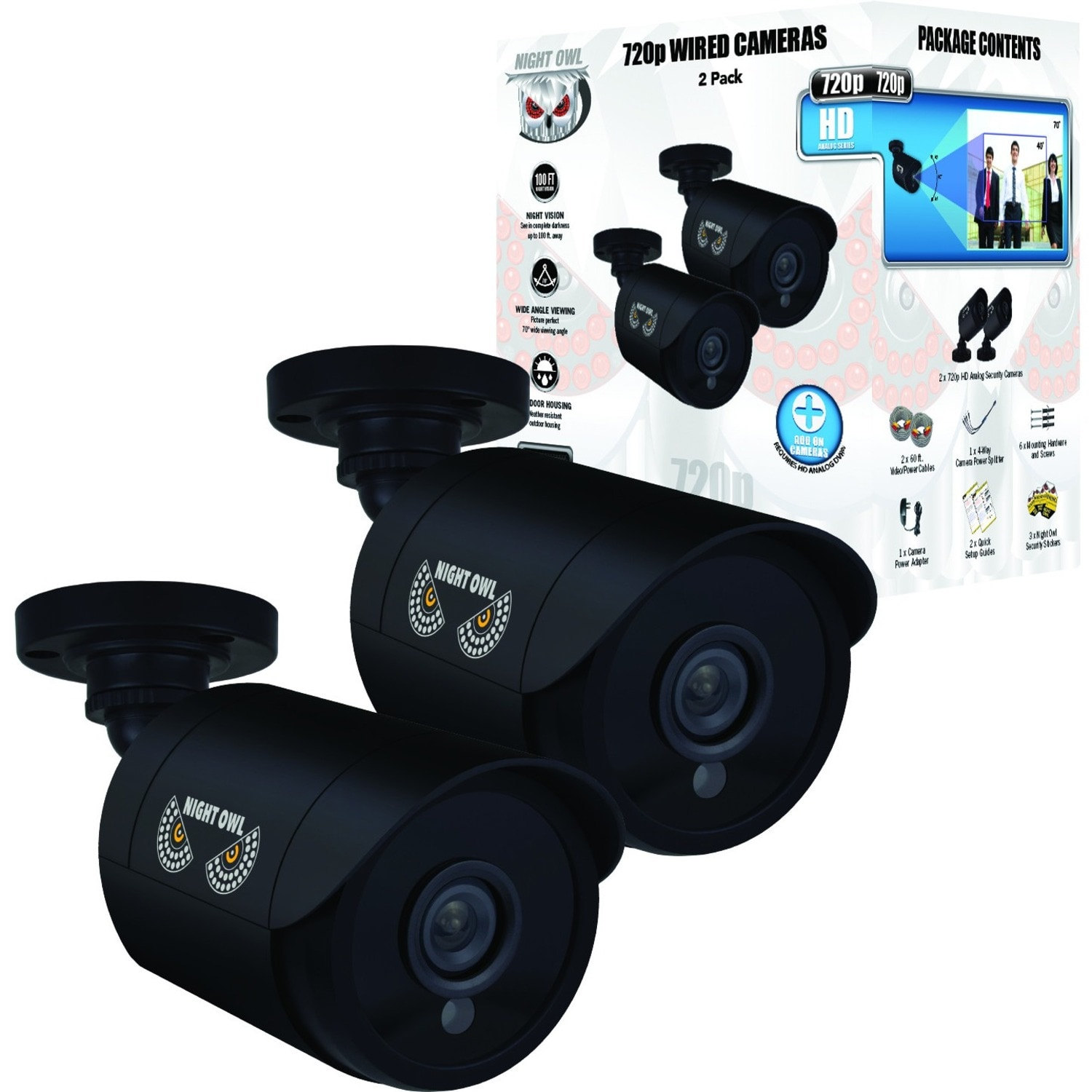 Night Owl Cm Hda7b Bu 1 Megapixel Surveillance Camera 2