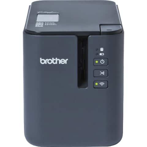 Brother P-touch PT-P900W Thermal Transfer Printer - Monochrome - Desktop - Tape Print