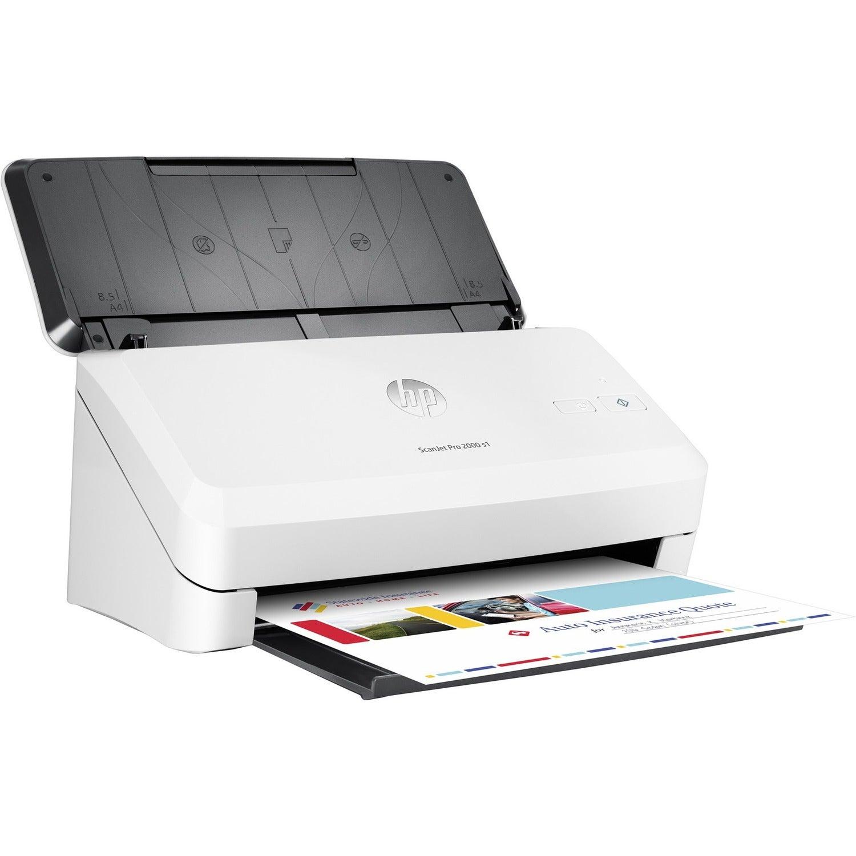 HP ScanJet Pro 2000 s1 Sheetfed Scanner - 600 dpi Optical