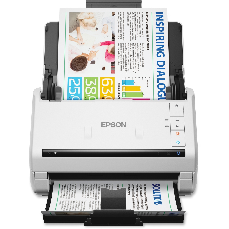 Epson WorkForce DS-530 Sheetfed Scanner - 300 dpi Optical
