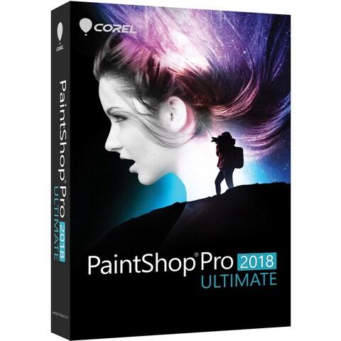 Corel PaintShop Pro 2018 Ultimate - Box Pack - 1 User