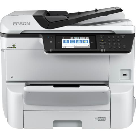 Epson WorkForce Pro WF-C8690 Inkjet Multifunction Printer - Color