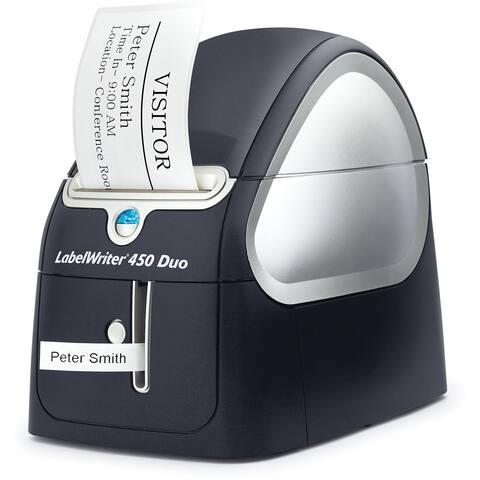 Dymo LabelWriter 450 Duo Direct Thermal Printer - Monochrome - Label Print