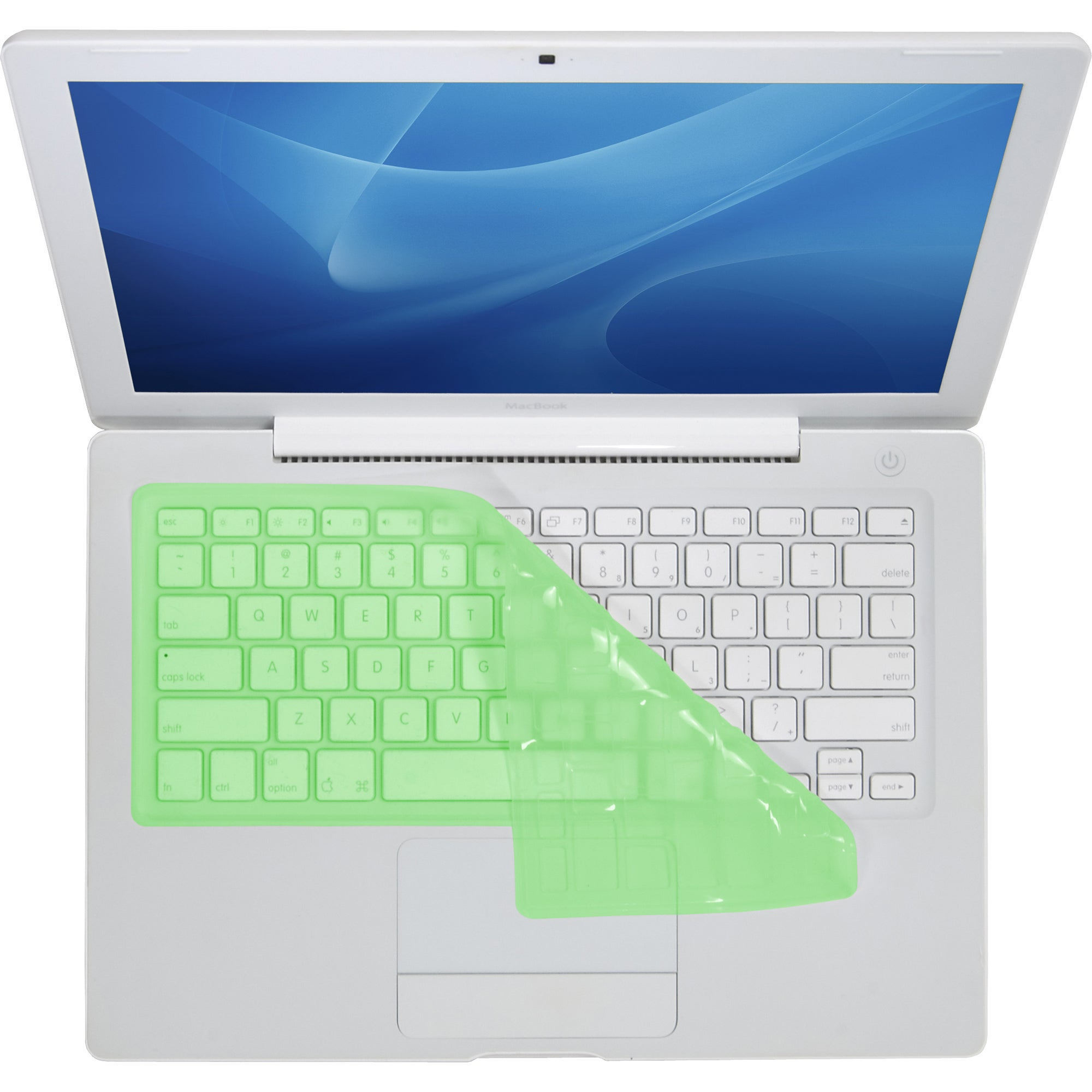 KB Covers Green Keyboard Cover for MacBook/Air 13/Pro (2008+)/Retina