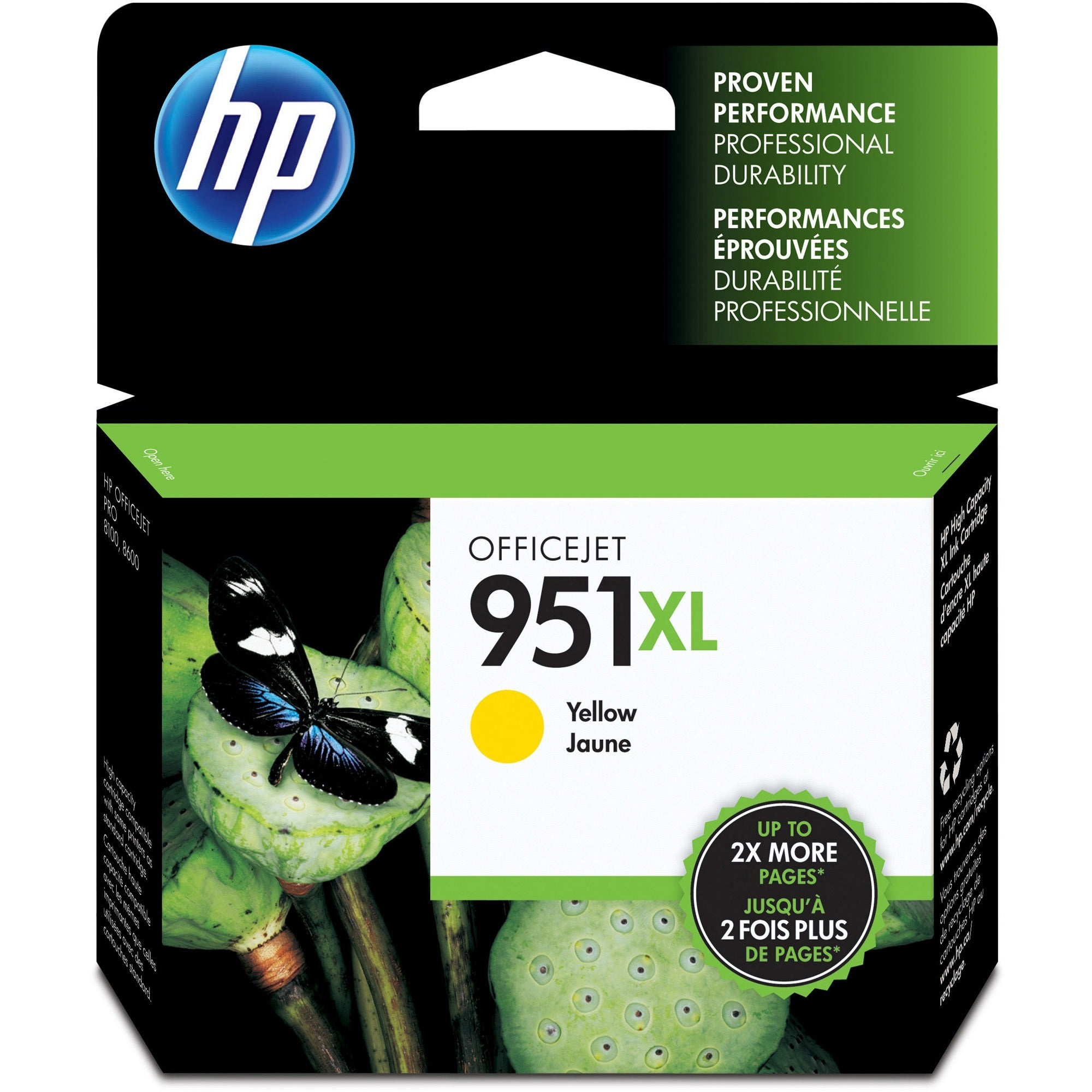 HP 951XL Original Ink Cartridge - Single Pack - Thumbnail 0