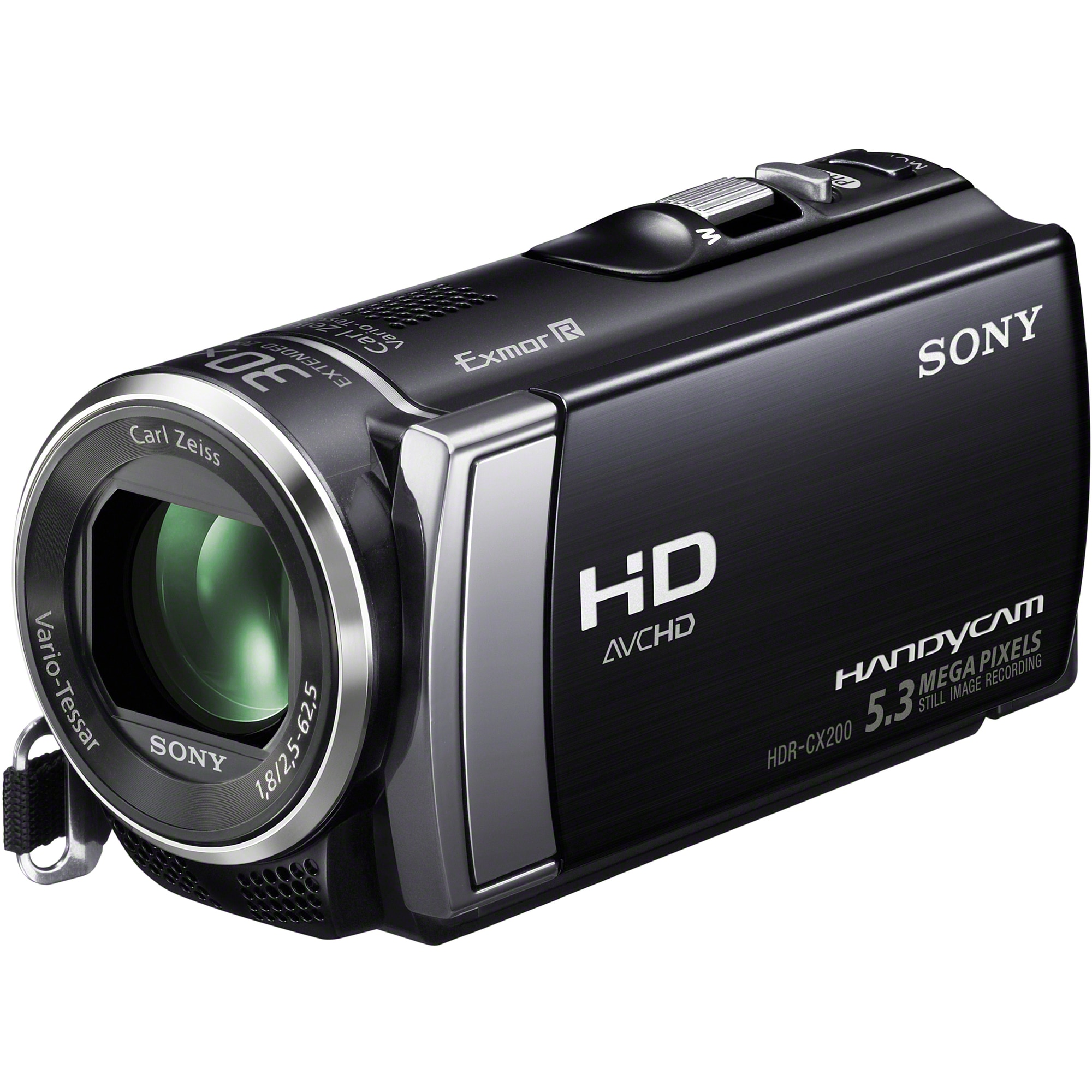 "Sony Handycam HDR-CX200 Digital Camcorder - 2.7"" - Touchscreen LCD -"