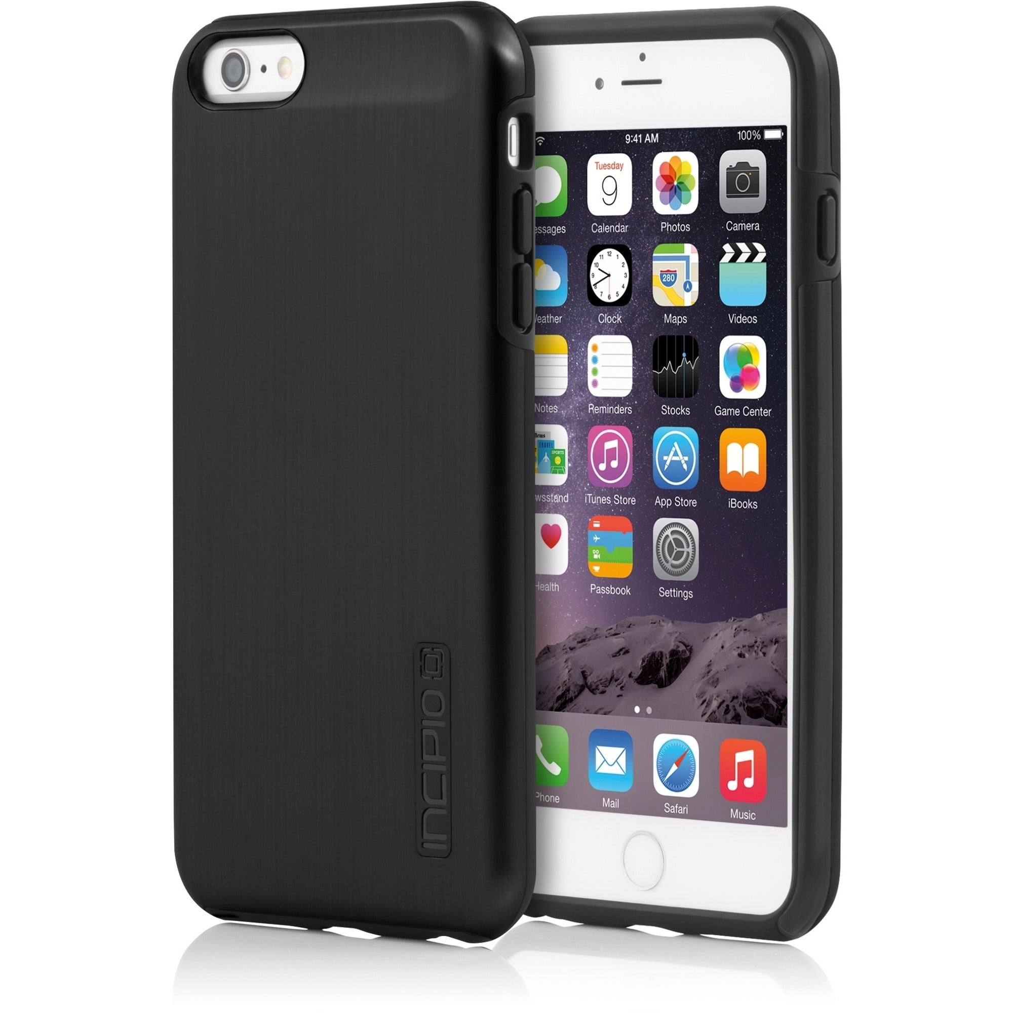 Incipio DualPro Shine iPhone Case, Multi #IPH-1196-BLK