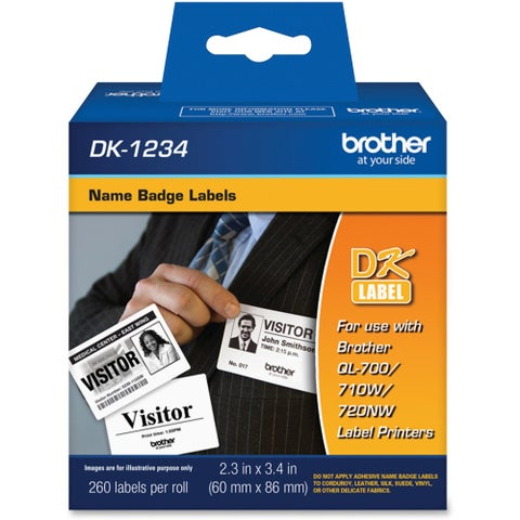 Brother Name Badge Label