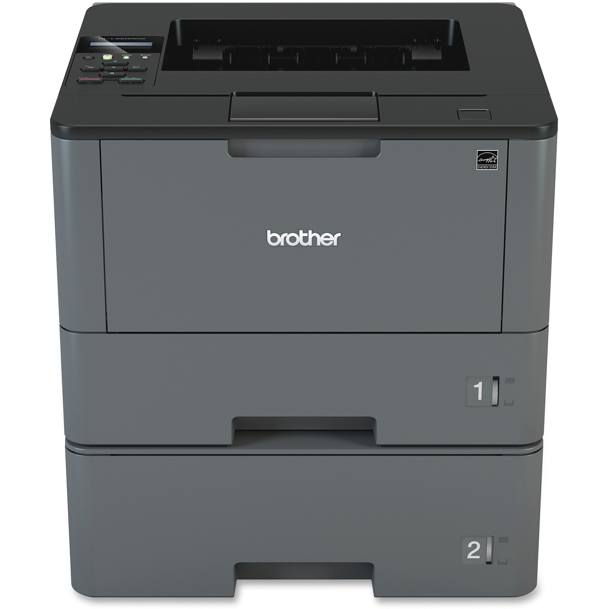 Brother Business Laser Printer HL-L5200DWT - Monochrome - Duplex Prin