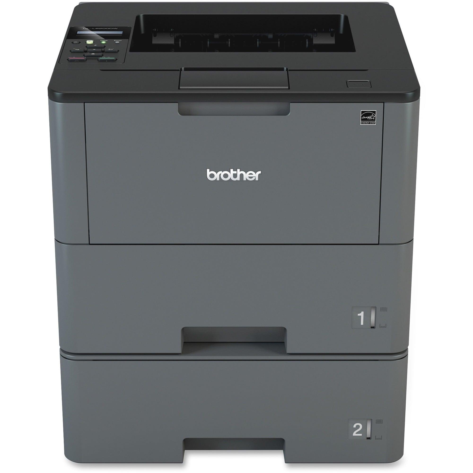 Brother Business Laser Printer HL-L6200DWT - Monochrome - Duplex Prin
