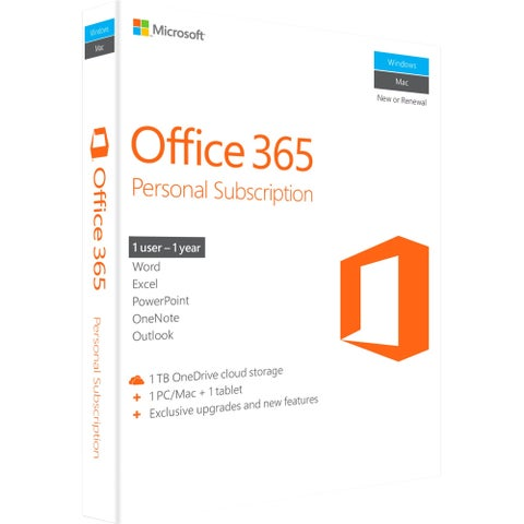 Microsoft Office 365 Personal Subscription + Exclusive Upgrades and N