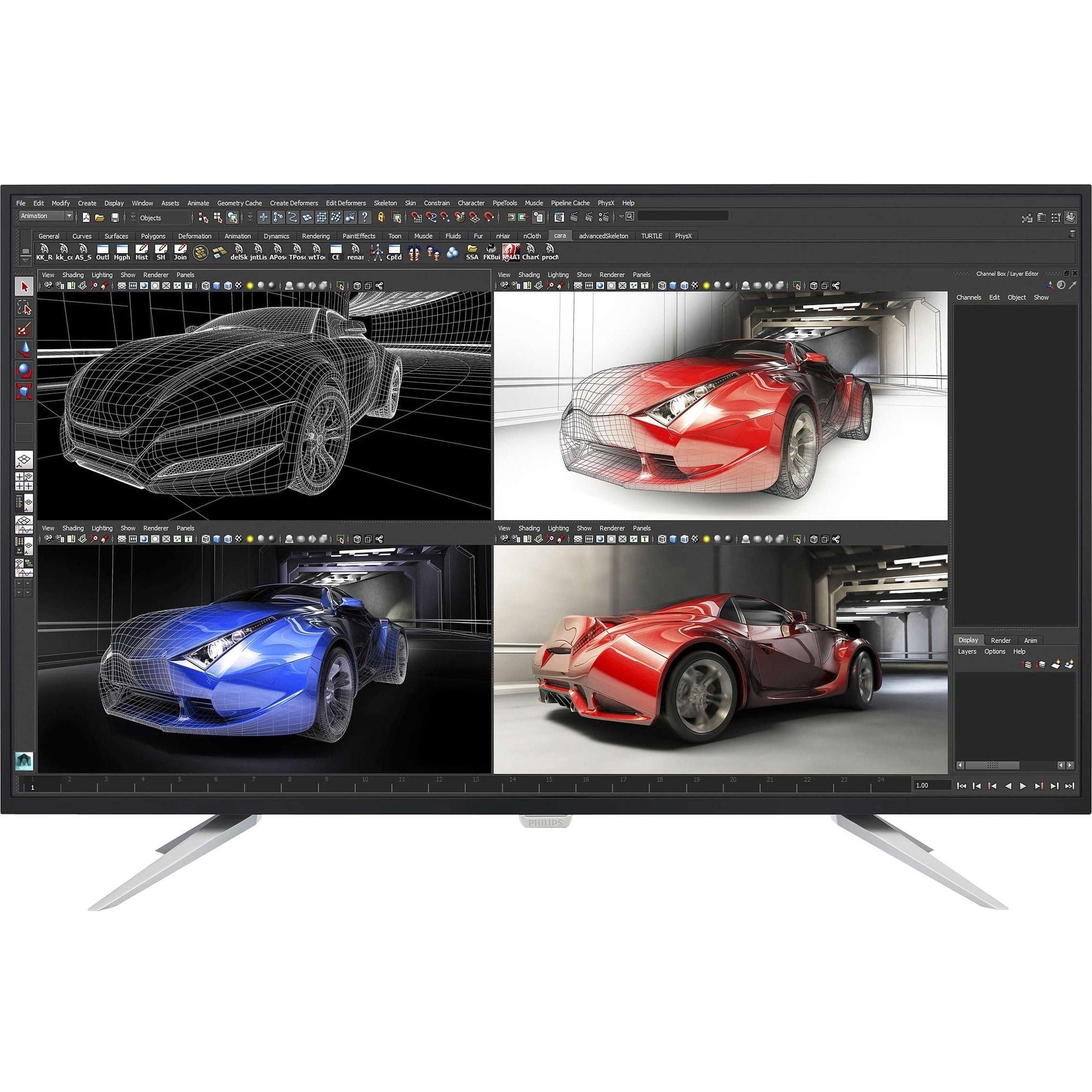 "Philips Brilliance BDM4350UC 43"" LED LCD Monitor - 16:9 -..."