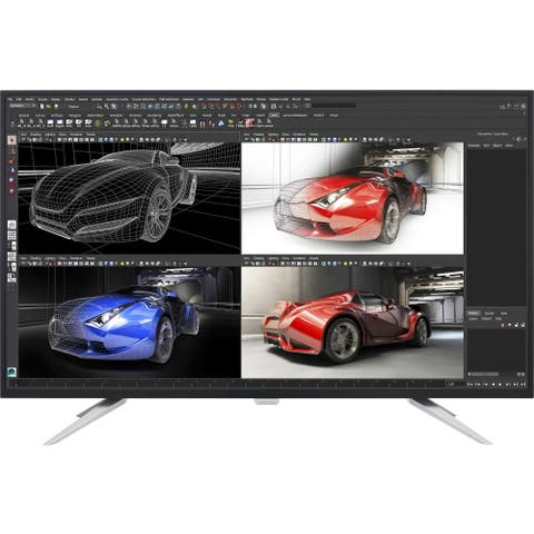 "Philips Brilliance BDM4350UC 43"" 4K UHD LED LCD Monitor - 16:9 - Black, Silver"