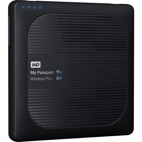 WD 2TB My Passport Wireless Pro Portable External Hard Drive - WiFi AC, SD, USB 3.0