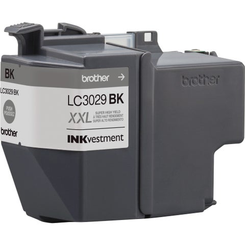 Brother Genuine LC3029BK INKvestment Super High Yield Black Ink Cartr