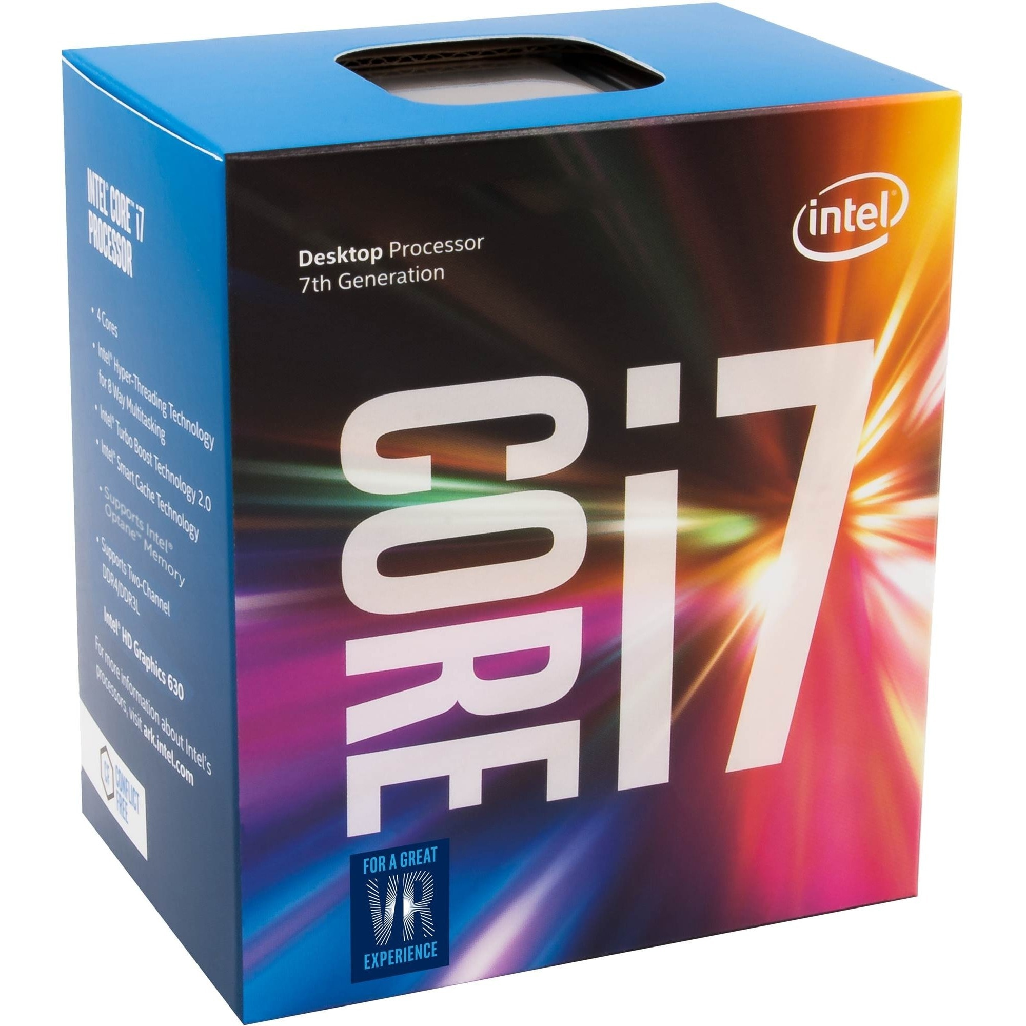 Intel Core i7 i7-7700 Quad-core (4 Core) 3.60 GHz Processor - Socket