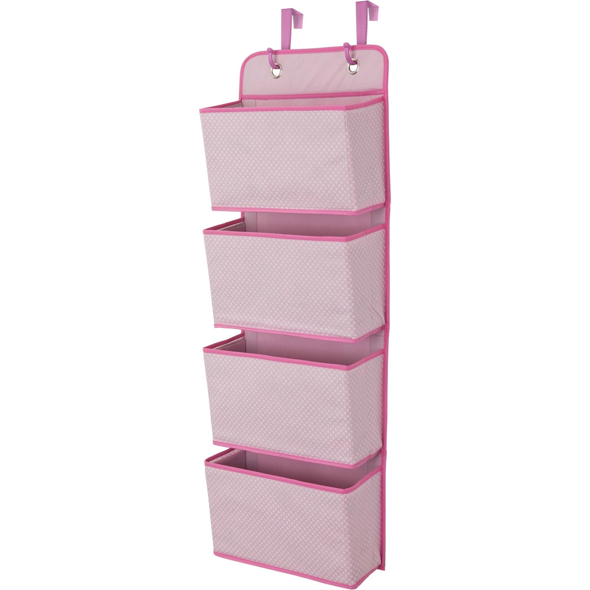 Delta Children 4-Pocket Organizer, Barley (Brown) Pink