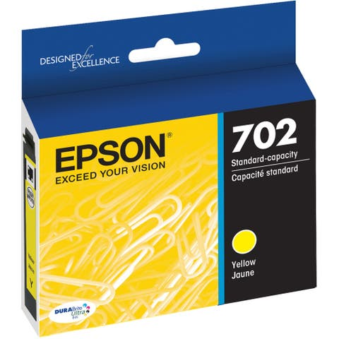 Epson DURABrite Ultra T702 Ink Cartridge - Yellow