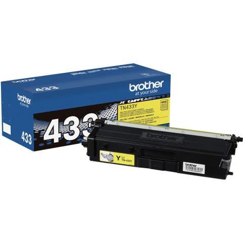 Brother TN433Y Toner Cartridge - Yellow