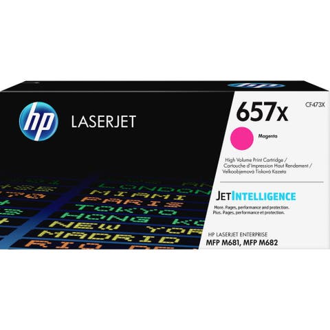 HP 657X Toner Cartridge - Magenta