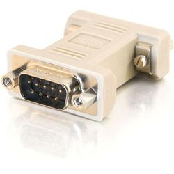 C2G DB9 Male to DB9 Female Null Modem Adapter