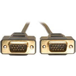 Tripp Lite Black VGA Monitor Replacement Cable