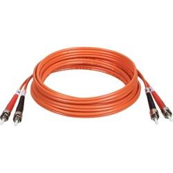 Tripp Lite 2M Duplex Multimode 62.5/125 Fiber Optic Patch Cable ST/ST