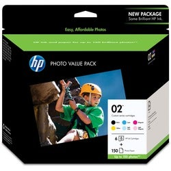 HP No. 02 Series Photo Value Pack