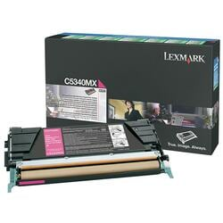 Lexmark Magenta Extra High Yield Return Program Toner Cartridge For C534 Printer