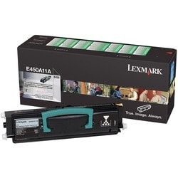 Lexmark Return Program Black Toner Cartridge For E450 and E450dn Printers