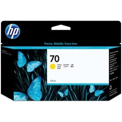 HP No. 70 Yellow Ink Cartridge For Z2100 and Z3100 Series Printers
