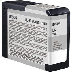 Epson UltraChrome K3 Light Black Ink Cartridge For Stylus Pro 3800 and Stylus Pro 3800 Professional Edition Printers