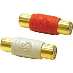 C2G 2-Piece RCA Dual Channel Audio Coupler