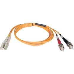 Tripp Lite 2M Duplex Multimode 50/125 Fiber Optic Patch Cable LC/ST 6