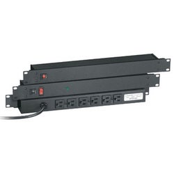 Black Box 6 Outlet Rack-mountable Power Strip