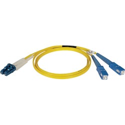 Tripp Lite 15M Duplex Singlemode 8.3/125 Fiber Optic Patch Cable LC/S