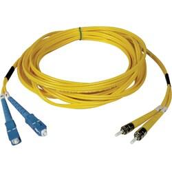 Tripp Lite 15M Duplex Singlemode 8.3/125 Fiber Optic Patch Cable SC/S