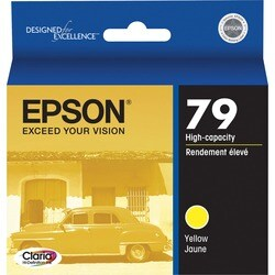 Epson 79 High-Capacity Yellow Ink Cartridge For Stylus Photo 1400 Printer
