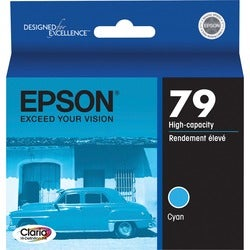 Epson 79 High-Capacity Cyan Ink Cartridge For Stylus Photo 1400 Printer