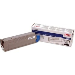 Oki Black Toner Cartridge for C6000n and C6000dn Printers