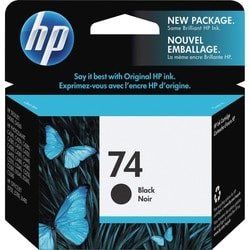 HP 74 Single-color Black OfficeJet Replacement Ink Cartridge