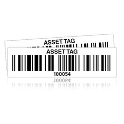 Wasp Pre-Printed Polyester Asset Tag