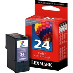 Lexmark No. 24 Return Program Color Ink Cartridge