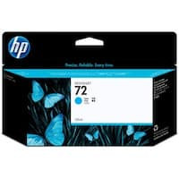 HP 72 High Yield Original Cyan Ink Cartridge,C9371A,130ml