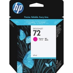 HP 72 Magenta Ink Cartridge For DesignJet Printers